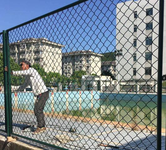 黄冈游泳池护栏网