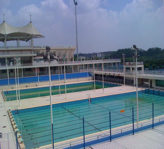 黄陂度假山庄泳池